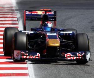 Puzzle de Sebastien Buemi - Toro Rosso -  Barcelona 2011