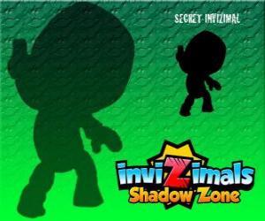 Puzzle de Secret Invizimal. Invizimals La otra dimensión. Nadie sabe nada de este misterioso y secreto invizimal
