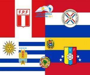 Puzzle de Semifinales, Copa América Argentina 2011