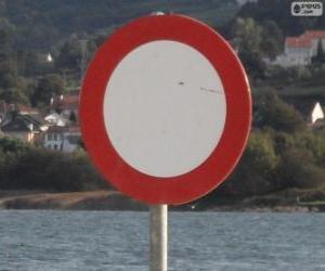 Puzzle de Senyal de circulación prohibida