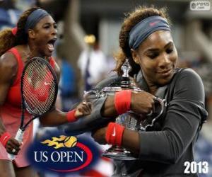 Puzzle de Serena Williams Campeona US Open 2013