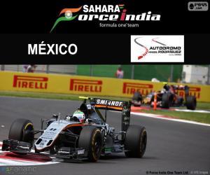 Puzzle de Sergio Pérez GP México 2016