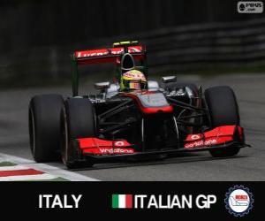 Puzzle de Sergio Perez - McLaren - Monza, 2013