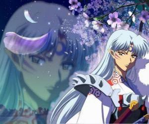 Puzzle de Sesshomaru, el hermano de Inuyasha. Un demonio total sin escrúpulos que odia a su hermano, a los humanos y a los débiles