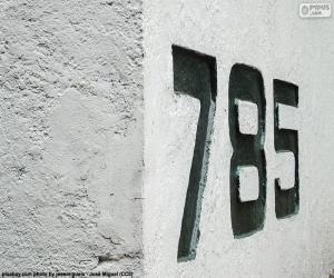 Puzzle de Setecientos ochenta y cinco