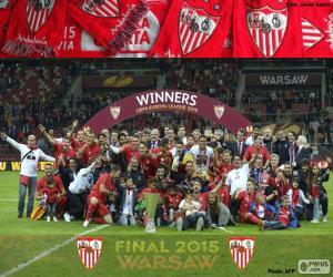 Puzzle de Sevilla campeón E.League 15