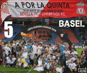Puzzle de Sevilla campeón E.League 16