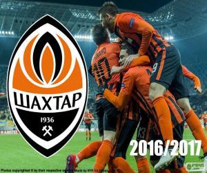 Puzzle de Shakhtar Donetsk, campeón 2016-17