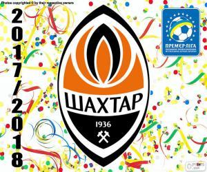 Puzzle de Shakhtar Donetsk, campeón 2017-18
