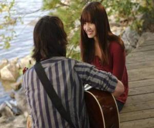 Puzzle de Shane (Joe Jonas) cantando junto Mitchie Torres (Demi Lovato)