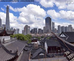 Puzzle de Shanghái, China