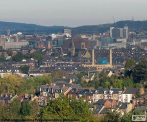Puzzle de Sheffield, Reino Unido