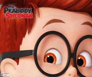 Puzzle de Sherman, el hijo adoptivo de Peabody