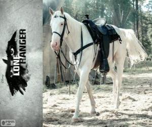 Puzzle de Silver es el caballo de John