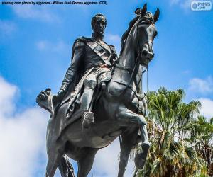 Puzzle de Simón Bolívar