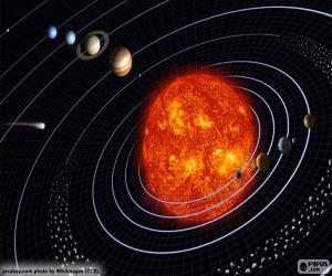 Puzzle de Sistema solar