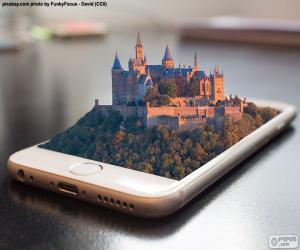 Puzzle de Smartphone 3D