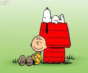 Puzzle de Snoopy y Charlie Brown