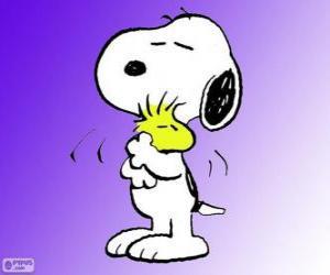 Puzzle de Snoopy y Woodstock