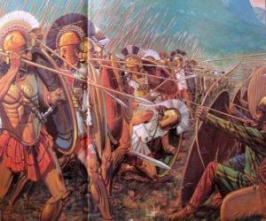 Puzzle de Soldados griegos