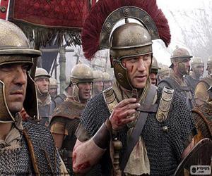 Puzzle de Soldados romanos