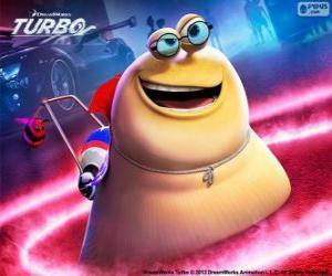 Puzzle de Sombra del film Turbo