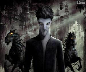 Puzzle de Sombra, miedo a la oscuridad. Personaje de El Origen de los Guardianes