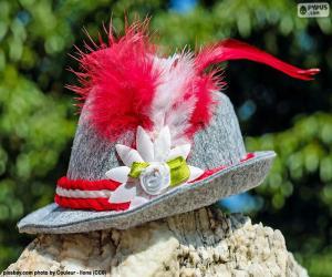 Puzzle de Sombrero Bavarés