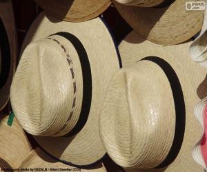 Puzzle de Sombrero panamá