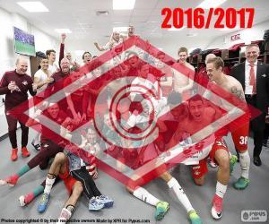 Puzzle de Spartak Moscú campeón 16-17