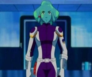 Puzzle de Spavid, un estudiante alienígena en la academia galáctica