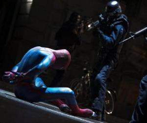 Puzzle de Spiderman capturado por la policia