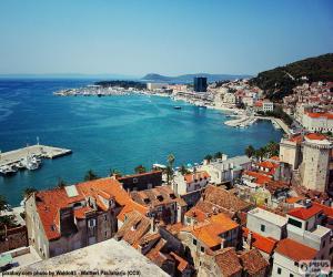 Puzzle de Split, Croacia