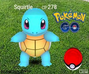 Puzzle de Squirtle, Pokémon GO