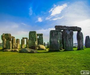 Puzzle de Stonehenge, Inglaterra