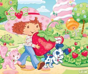 Puzzle de Strawberry Shortcake