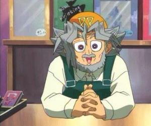 Puzzle de Sugoroku Muto o Solomon Muto es el abuelo de Yugi i dueño de una tienda de juegos de mesa