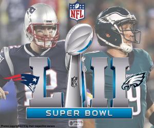 Puzzle de Super Bowl 2018