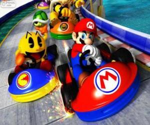 Puzzle de Super Mario Kart