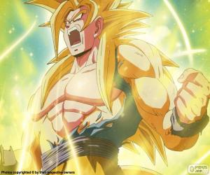 Puzzle de Super Saiyajin, Dragon Ball