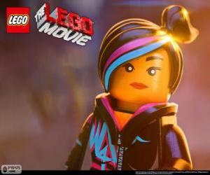Puzzle de Supercool o Estilo-Libre, un espíritu libre de la película Lego