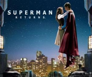 Puzzle de Superman con Lois Lane