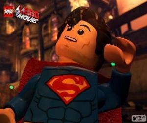 Puzzle de Superman, un superhéroe de la película Lego