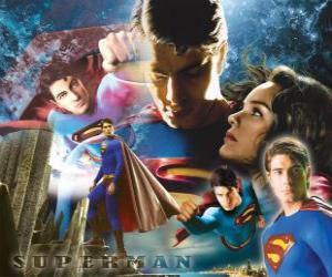 Puzzle de Superman y Lois Lane
