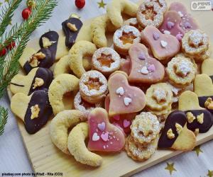 Puzzle de Surtido de galletas de Navidad