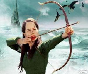 Puzzle de Susan Pevensie con el arco
