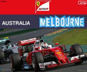 Puzzle de S.Vettel G.P Australia 2016