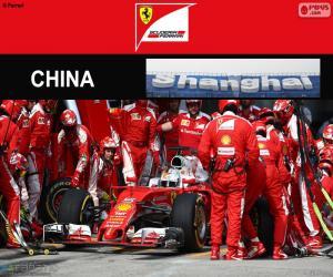 Puzzle de S.Vettel G.P de China 2016