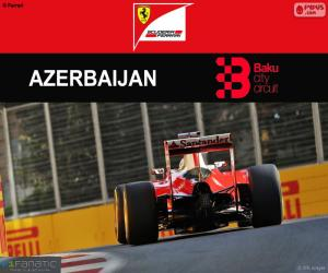 Puzzle de S.Vettel, G.P Europa 2016