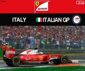 Puzzle de S.Vettel, G.P Italia 2016